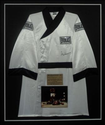 Muhammad Ali Signed Boxing Robe